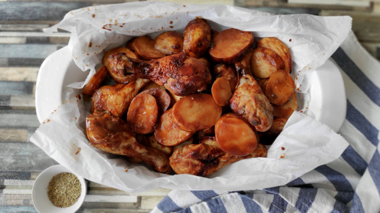 תבשיל עוף בתפוחי אדמה