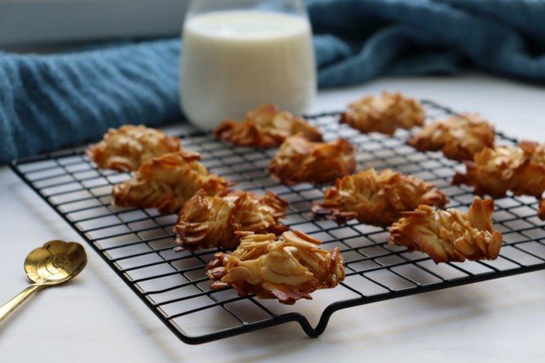 עוגיות שקדים קראנצ'יות